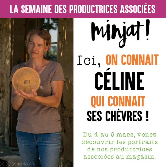 Le portrait de Céline – «Je prépare l'avenir.»