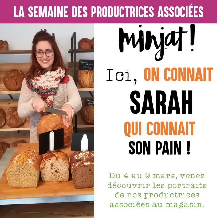 SARAH productrice associée