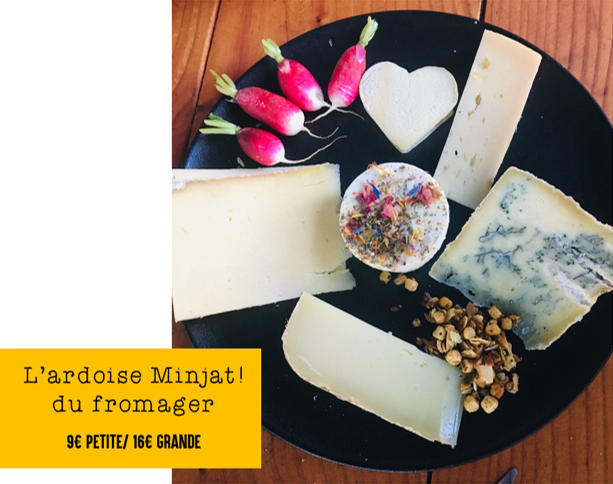 afterwork minjat assiette fromage