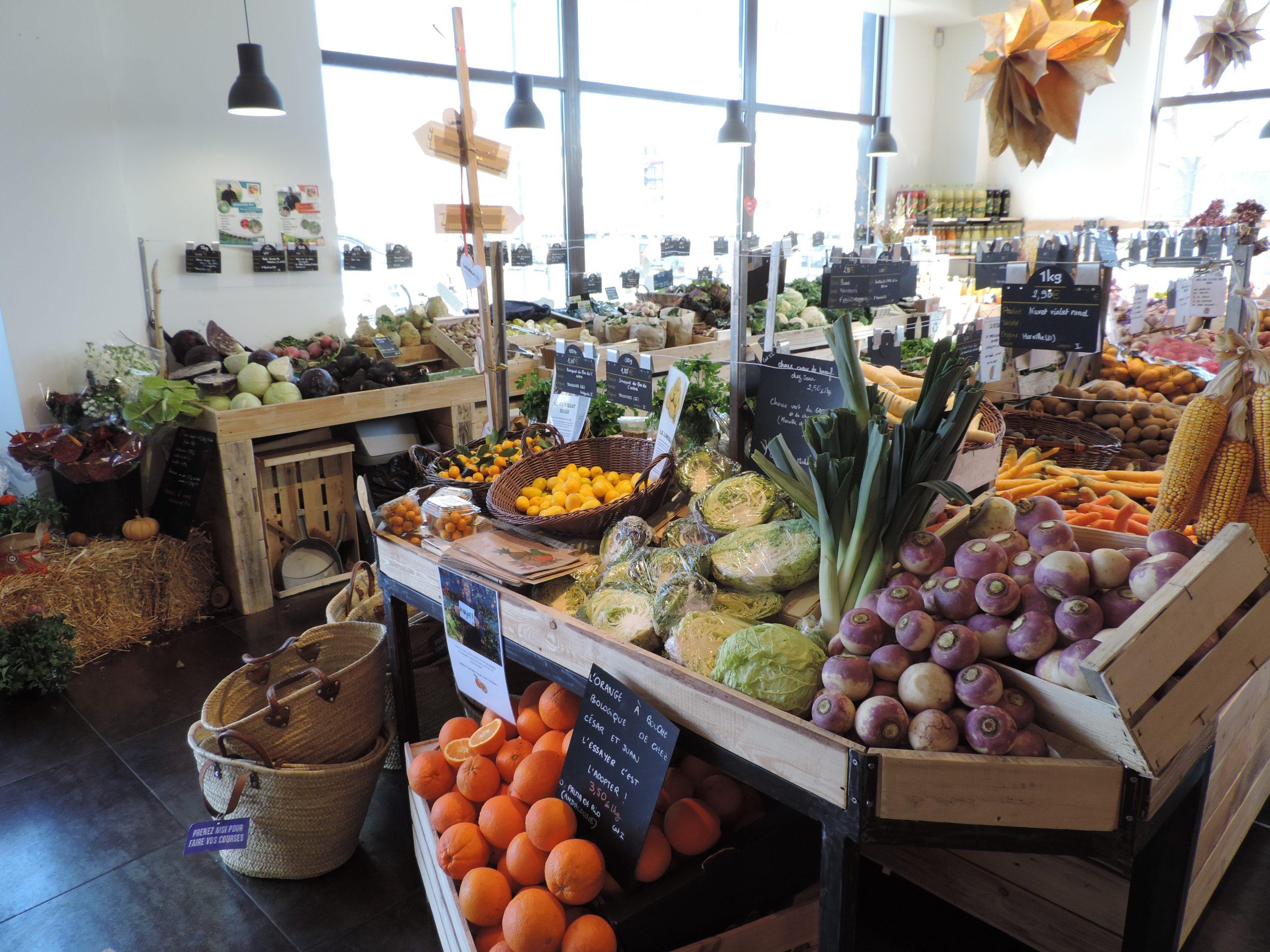 Employé de rayon fruits et légumes H/F